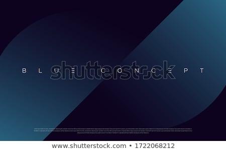eenvoudige · Blauw · cirkels · textuur · abstract · achtergrond - stockfoto © kloromanam