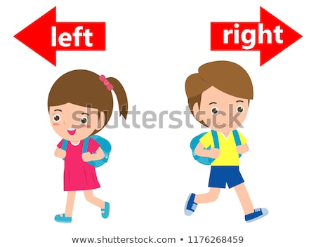 Left or right, opposite signs Stock photo © stevanovicigor