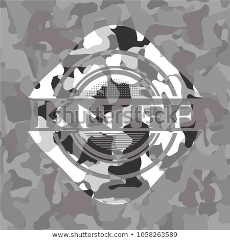 Army Camo Switchblade Knife Stock photo © ArenaCreative