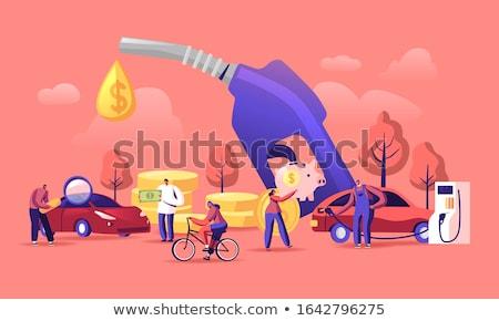Saving Gasoline Stock photo © idesign