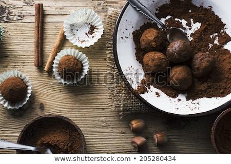 doce · chocolate · foco · festa - foto stock © badmanproduction