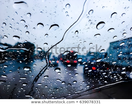 driving in the rain stock photo © joyr
