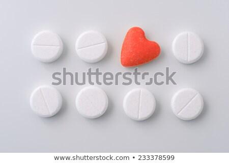 Liefde dosis drug vorm capsule decoratief Stockfoto © unikpix