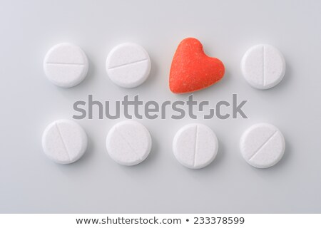 amor · dosis · mano · cápsula · píldora - foto stock © unikpix