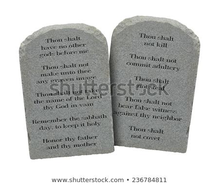 grunge · Biblia · abierto · arenisca · piedra · retro - foto stock © c-foto