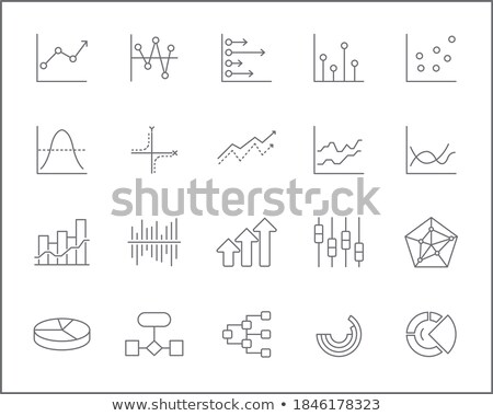 diagrams and charts and other infographics drawing stock photo © stevanovicigor