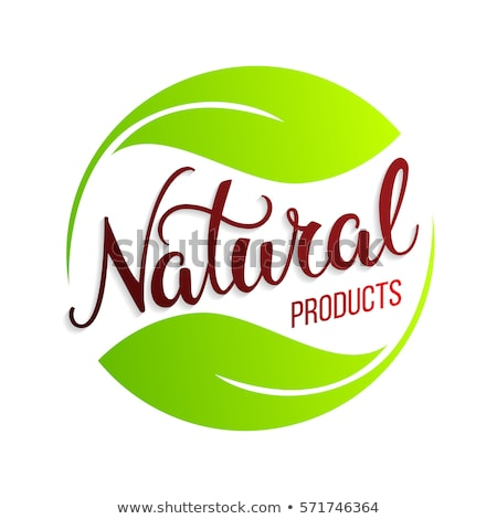 Organic and Natural words. Stock photo © timurock