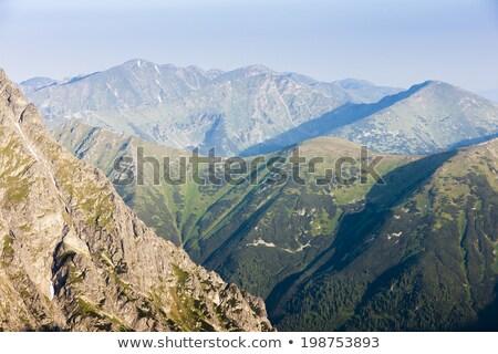 Hoog Slowakije landschap bergen Europa object Stockfoto © phbcz