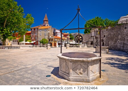 Five Wells Square in Zadar Stock photo © bayberry