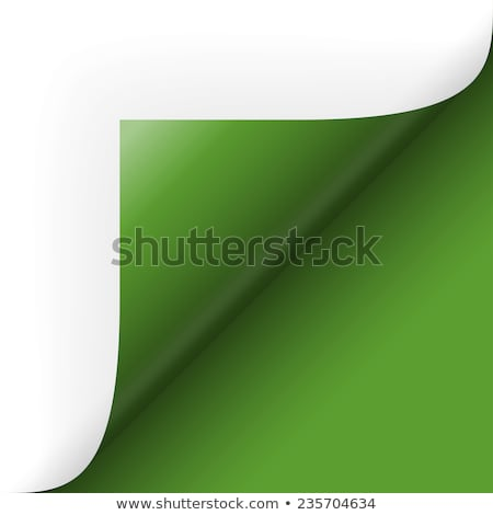 green corner bend stock photo © nicemonkey