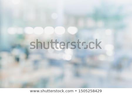 Pencere yansımalar renkli tuğla ev duvar Stok fotoğraf © pumujcl