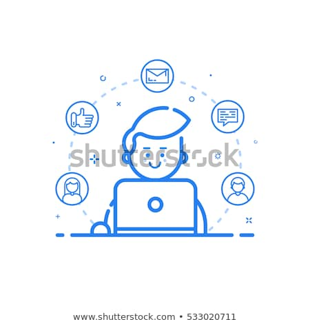 Search for Freelancer Icon Stock photo © WaD