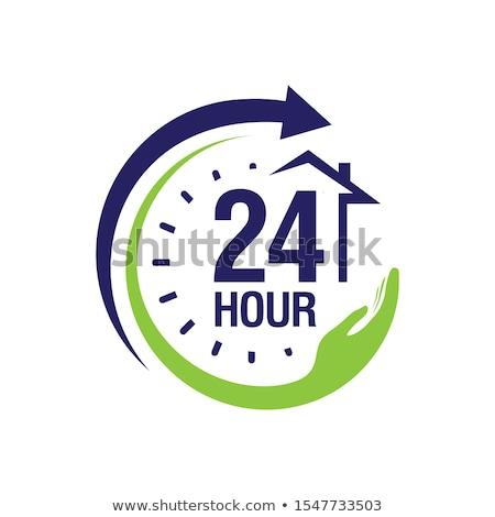 24 緊急 サービス 赤 ベクトル アイコン ストックフォト © rizwanali3d