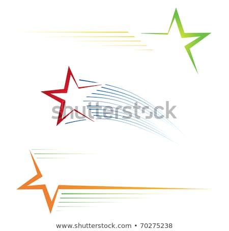 звездой синий вектора икона дизайна цифровой Сток-фото © rizwanali3d
