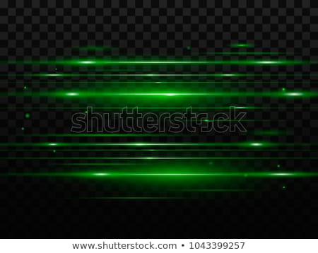 Black background with glow green light Stock photo © saicle