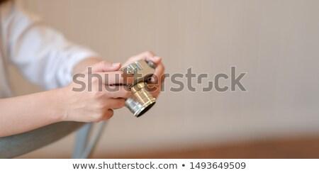 Vrouw portret aantrekkelijk jonge Stockfoto © iofoto