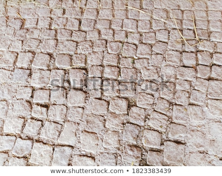 Photo stock: Sand Color Pavement Of Square Shape