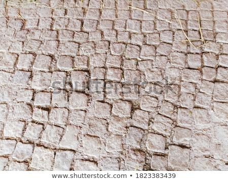 Arena color pavimento cuadrados forma diferente Foto stock © tashatuvango