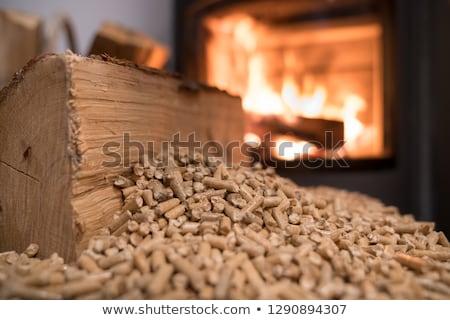 Foto stock: Energia · madeira · natureza · branco · economia · naturalismo