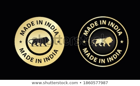 vlag · icon · Indië · geïsoleerd · witte - stockfoto © oakozhan