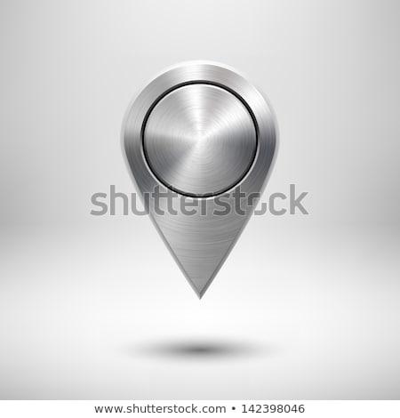 metal map pointer stock photo © oakozhan