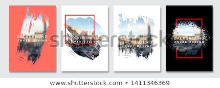 peinture · à · l'huile · mer · art · pétrolières · encre · graphique - photo stock © blackmoon979