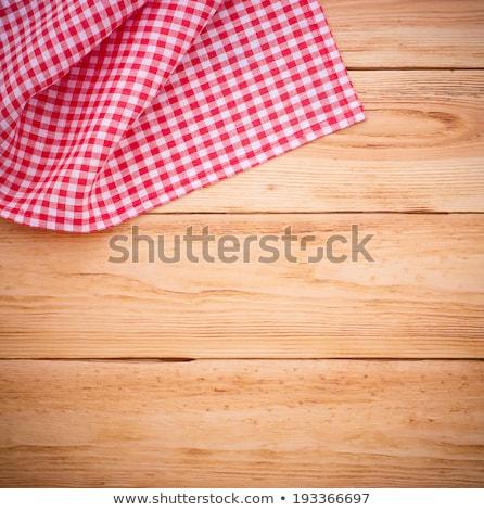 Czerwony notebooka biały przestrzeni tekst Zdjęcia stock © tish1