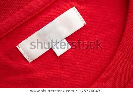 Color Clothing Size Labels Stock photo © timurock