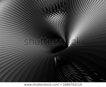 抽象的な クロム コンピュータ 生成された ガラス 青 ストックフォト © zven0