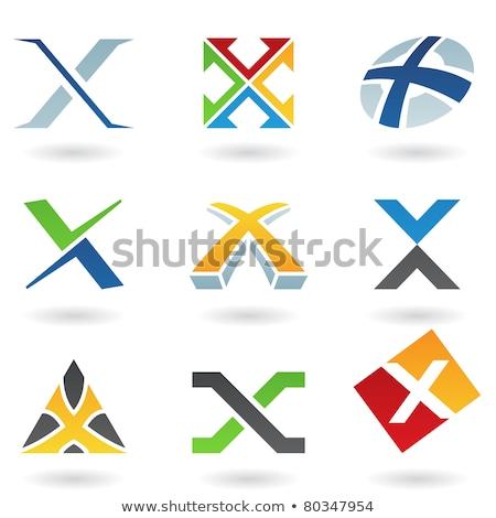 手紙 · 緑 · ロゴタイプ · ベクトル · シンボル - ストックフォト © cidepix