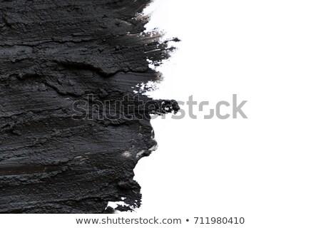 Black clay texture  Stock photo © grafvision