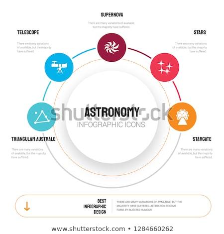 超新星 星 爆発 アイコン ベクトル デザイン ストックフォト © blaskorizov