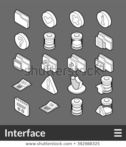 アイソメトリック · インフォグラフィック · 要素 · 花 - ストックフォト © netkov1