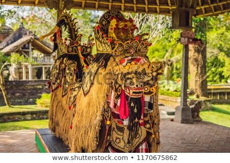 A statue of grains, a symbol of fertility Bali Indonesia stock photo © galitskaya