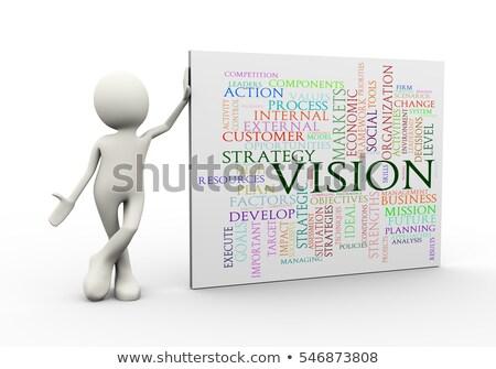3D leiderschap woord 3d illustration succes Stockfoto © ribah