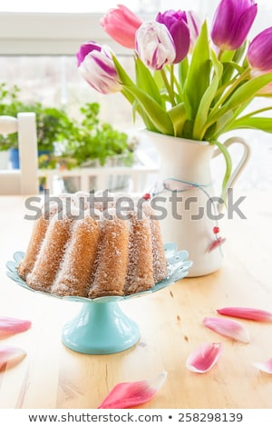 Pasen partij cake partij levensmiddelen klein gebak Stockfoto © grafvision