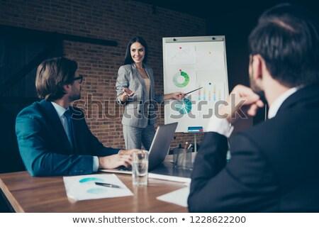 Work of economist Stock photo © pressmaster