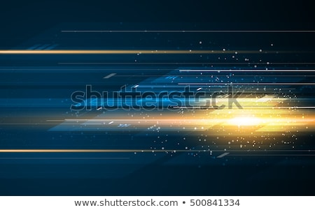 digital vector blue yellow stock photo © frimufilms