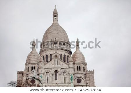 sacre coeur church paris stock photo © neirfy