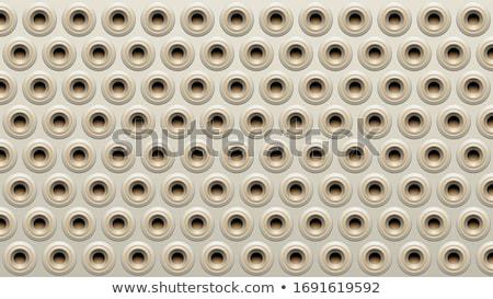 Szürke bézs hangfal vektor textúra fény Stock fotó © cidepix