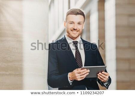 мужчины адвокат бизнеса Новости нежный Сток-фото © vkstudio