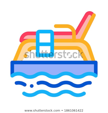 underwater tube icon vector outline illustration Stock photo © pikepicture