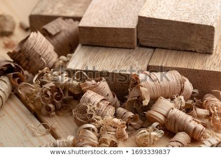 Stolarz elektryczne maszyny drzewo drewna Zdjęcia stock © olira