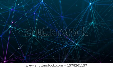 抽象的な 粒子 デジタル デザイン ストックフォト © SArts