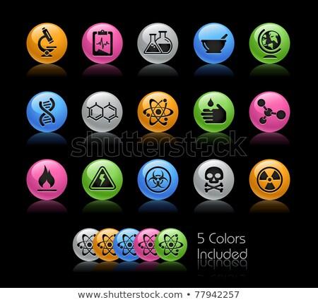 Energii ikona wektora pliku kolor inny Zdjęcia stock © Palsur