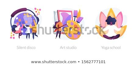 Artes vetor metáforas moderno Foto stock © RAStudio