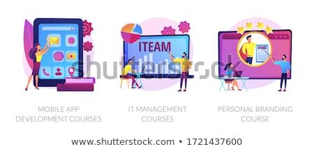 Personal branding course vector concept metaphor Stock photo © RAStudio