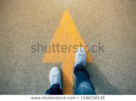 Verkeer richting succes Stockfoto © 4designersart