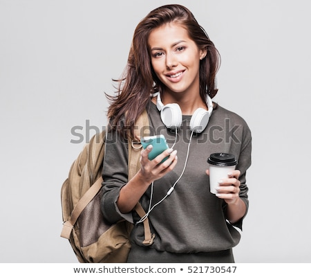 young student girl stock photo © lithian