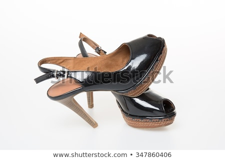 Gangster style modern female shoes  Stock photo © Elisanth